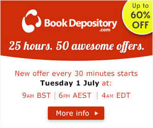 Featured image for The Book Depository Up To 60% OFF 25hr Promo 1 – 2 Jul 2014