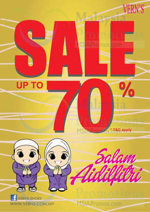 Featured image for Vern's Up To 70% OFF SALE 28 Jun – 14 Aug 2014