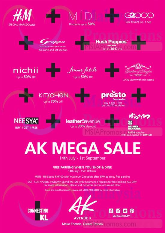 AK Mega Sale 8 Jul 2014