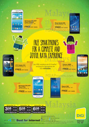 Featured image for Digi RM0 Smartphone Offers 18 Jul 2014