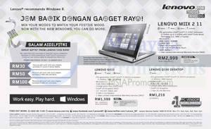 Featured image for Lenovo Notebooks & Desktop PC Offers 31 Jul 2014