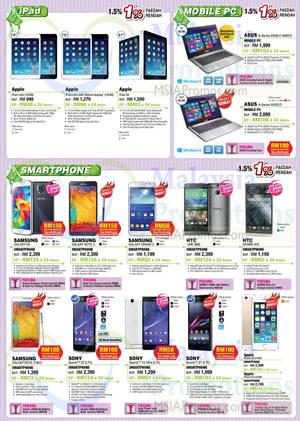 Featured image for SenQ Notebooks, TVs, Home, Kitchen Appliances & Digital Cameras 1 Jul 2014