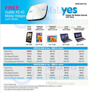 Featured image for SenQ Smartphones, Digital Cameras, Notebooks & Other Offers 1 Jul 2014