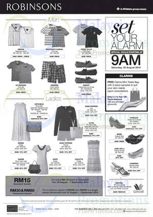Featured image for Robinsons Spend RM250 & Get Free RM30 Voucher 30 Aug – 1 Sep 2014