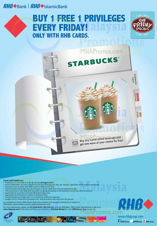 Starbucks 1 Aug 2014