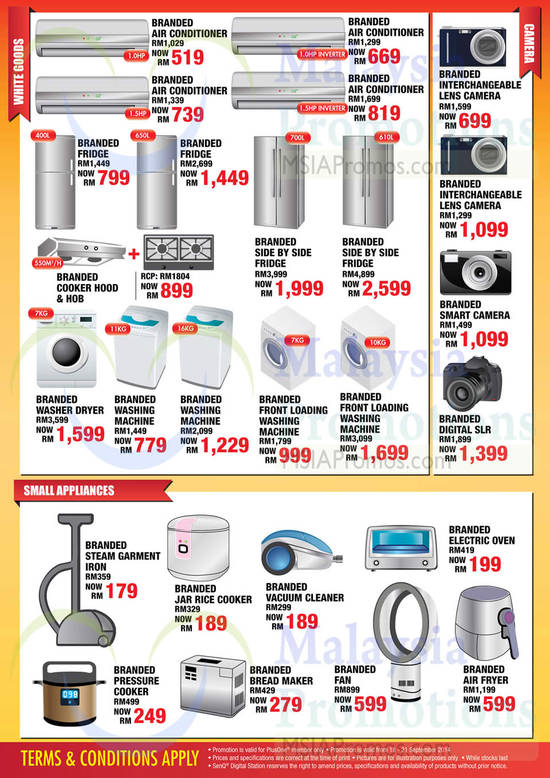 Air Conditioners, Fridges, Washers, Digital Cameras, Home, Kitchen Small Appliances