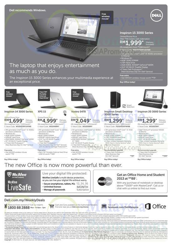 Dell 2 Sep 2014