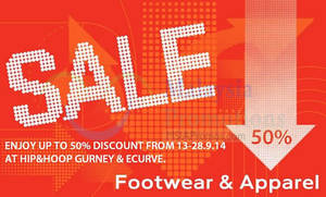Featured image for Hip&Hoop SALE 13 – 28 Sep 2014