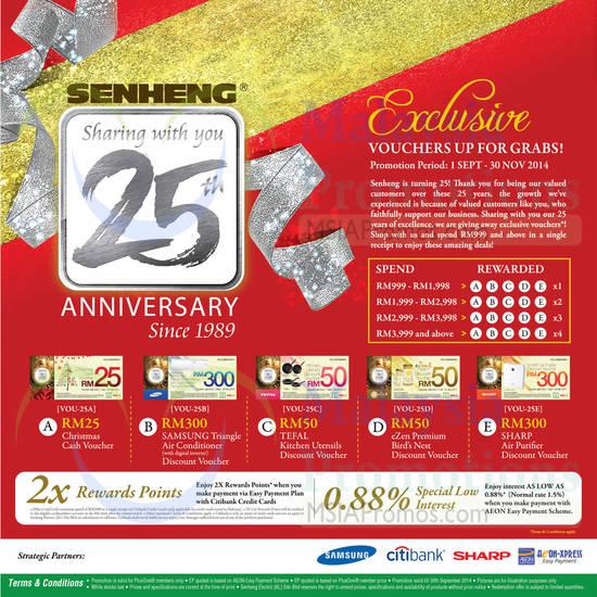 Featured image for Senheng Smartphones, Tablets, Digital Cameras, Notebooks & Other Offers 1 - 30 Sep 2014