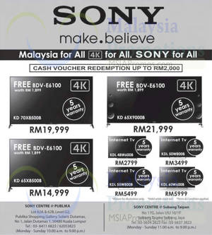 Featured image for Sony LED TV Offers 25 Sep 2014
