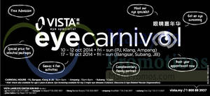 Featured image for Vista Eye Specialist Eye Carnival 10 – 19 Oct 2014