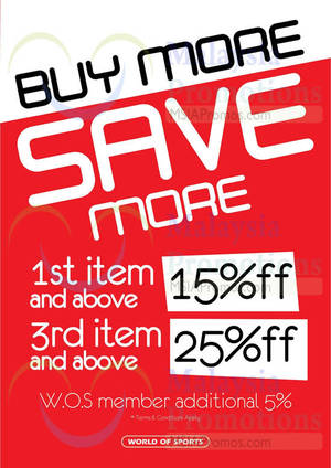 Featured image for World of Sports, World of Outdoors, Urban Adventure & Columbia Buy More Save More Promotion 2 – 14 Sep 2014