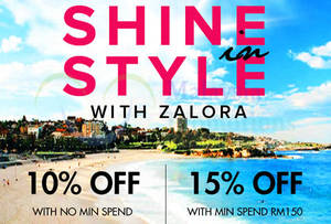 Featured image for Zalora 15% OFF Storewide Coupon Code (NO* Min Spend) 1 – 31 Oct 2014