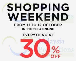 Featured image for Mango 30% Off Storewide Weekend Promo 11 – 12 Oct 2014