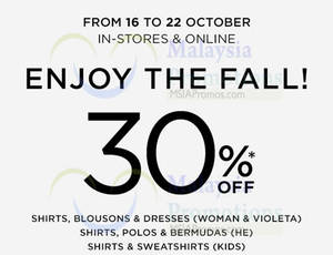 Featured image for Mango 30% Off Storewide Promo 16 – 22 Oct 2014