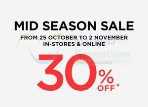 Featured image for Mango 30% Off Mid Season Sale 25 Oct – 2 Nov 2014