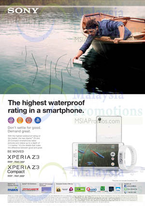 Featured image for Sony Xperia Z3 & Sony Xperia Z3 Compact Features & Price 13 Oct 2014