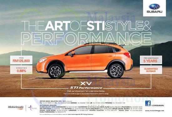 Subaru XV 10 Oct 2014