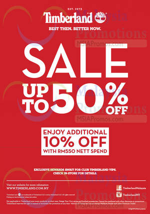 Featured image for Timberland End of Season Sale (Final Reductions!) 10 Nov 2014
