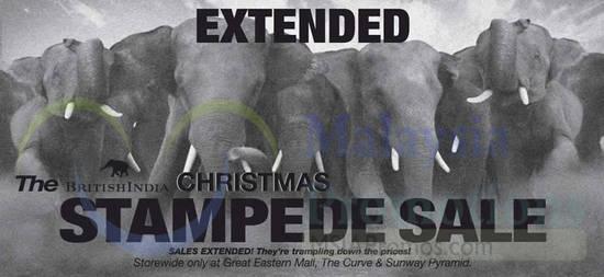 8 Dec Extended Stampede Sale