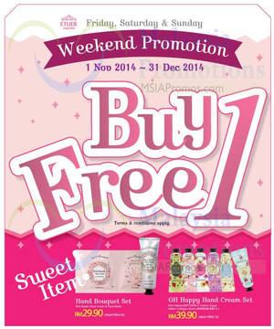 Featured image for Etude House Buy 1 Get 1 FREE Promo (Fri – Sun) 1 Nov – 31 Dec 2014