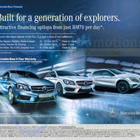 Mercedes benz roadshow the curve 5 7 dec 2014 for Mercedes benz extended warranty coverage