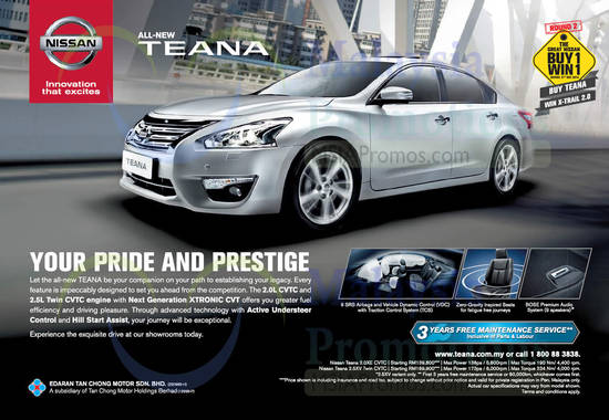 Nissan Teana 19 Nov 2014