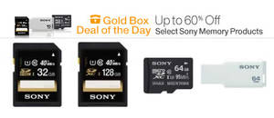 Featured image for Sony Memory Cards & Drives Up To 60% Off 24hr Promo 11 – 12 Nov 2014