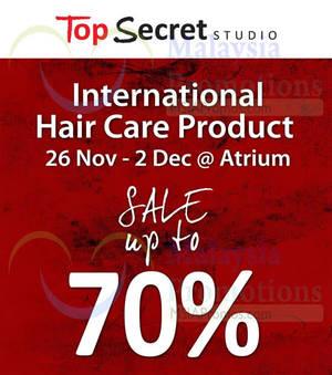 Featured image for Top Secret Studio Clearance Sale 26 Nov – 2 Dec 2014