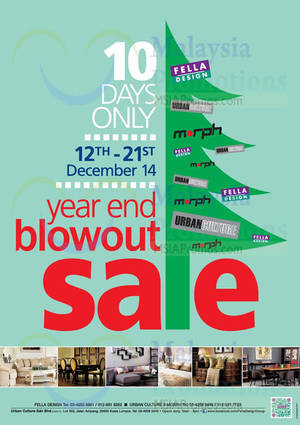 Featured image for Fella Design Year End Sale @ Ampang 12 – 21 Dec 2014