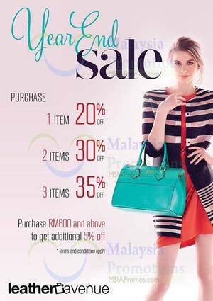Featured image for Leather Avenue Up To 35% OFF Promo 6 Dec 2014 – 5 Jan 2015