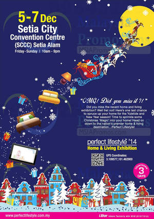 Featured image for Perfect Lifestyle @ Setia City Convention Centre 5 – 7 Dec 2014