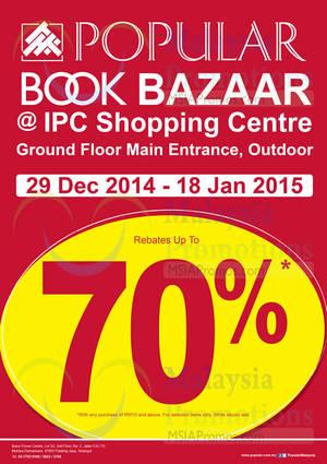 Featured image for Popular Book Bazaar @ IPC Shopping Centre 29 Dec 2014 – 18 Jan 2015