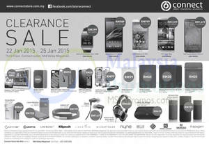Featured image for Connect Store Clearance Sale @ Mid Valley Megamall 22 – 25 Jan 2015