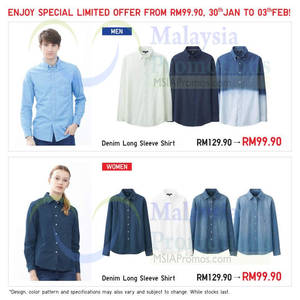 Featured image for Uniqlo Nationwide Promo Offers 30 Jan – 5 Feb 2015