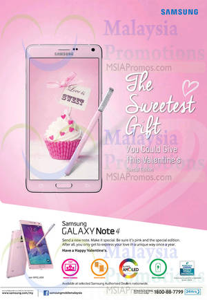 Featured image for Samsung Galaxy Note 4 NEW Pink Special Edition 30 Jan 2015