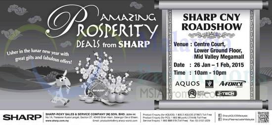 Sharp Roadshow 26 Jan 2015
