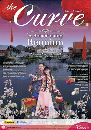 Featured image for The Curve Homecoming Reunion Promotions & Activities 23 Jan – 23 Feb 2015