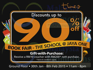 Featured image for Times Bookstores Sale @ Jaya One 30 Jan – 8 Feb 2015