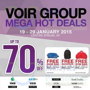 Featured image for Voir Group Mega Hot Deals @ KL Sogo 19 – 29 Jan 2015
