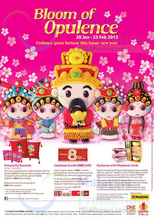 Featured image for 1 Utama Great Fortune Promotions 28 Jan – 23 Feb 2015