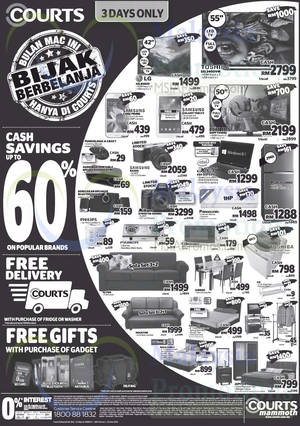 Featured image for Courts Mammoth Promo Offers 28 Feb – 2 Mar 2015
