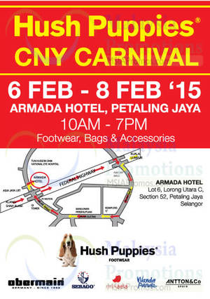 Hush Puppies Warehouse Clearance SALE   Petaling Jaya 6 – 8 Feb 2015 f696bf0814