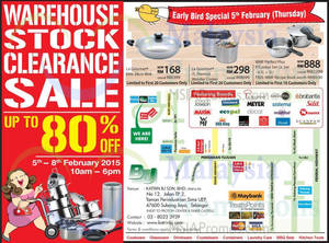 Featured image for Katrin BJ Warehouse Stock Clearance SALE @ Subang Jaya 5 – 8 Feb 2015