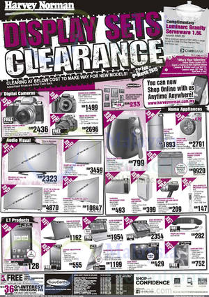 Featured image for Harvey Norman Notebooks, Smartphones, Furnitures & Other Offers 28 Feb – 6 Mar 2015