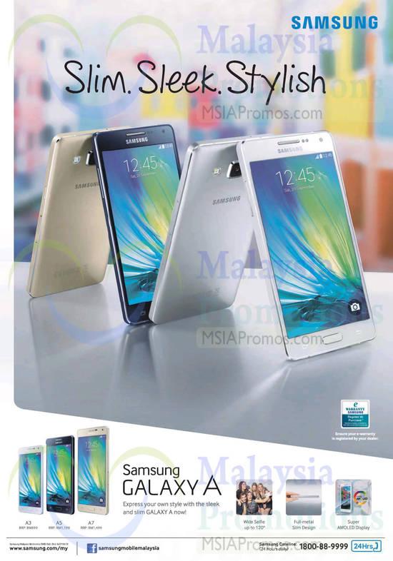 Samsung Galaxy A 5 Feb 2015