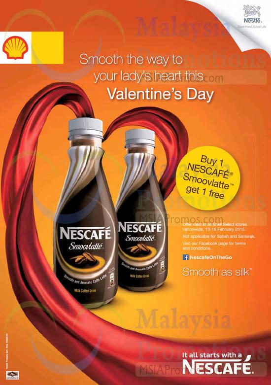 Shell Nescafe Offer 13 Feb 2015