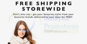 Featured image for Zalora FREE Shipping (NO Min Spend) 1-Day Promo 31 Aug 2015