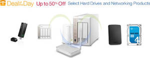 Featured image for Amazon.com Up To 50% OFF Selected Drives & Networking 24hr Promo 31 Mar – 1 Apr 2015