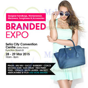 Featured image for Celebrity Wearhouz Branded Expo @ Setia City Convention Centre 28 – 29 Mar 2015